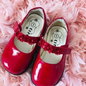 Other - Red Mary Jane Shoes size 5.5